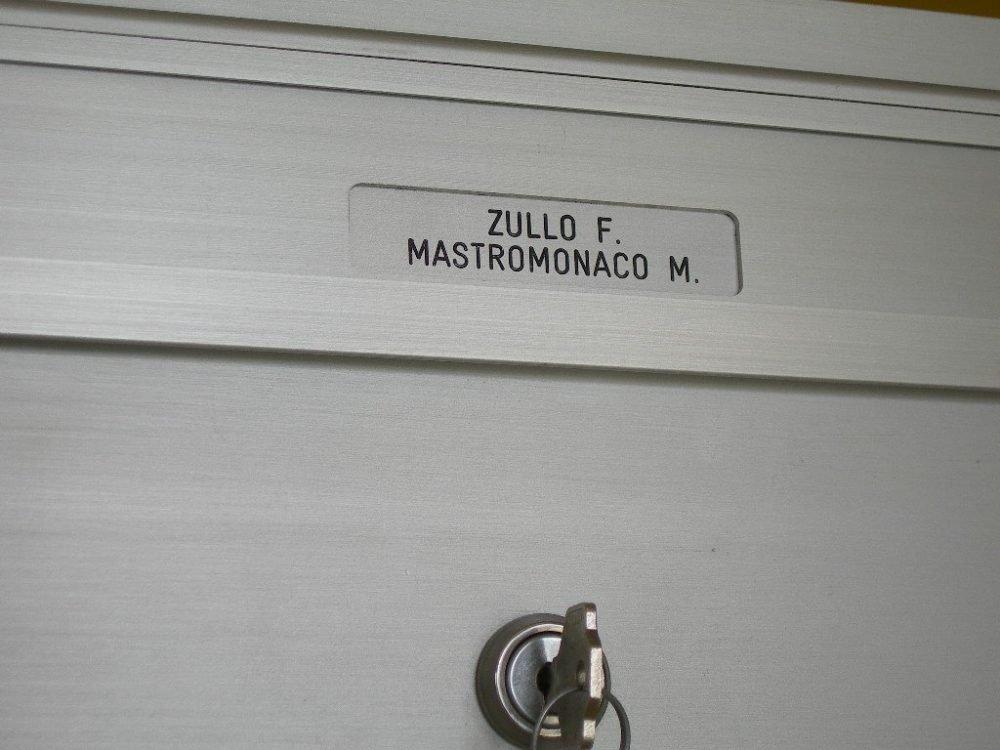 incisione nominativo per cassetta postale